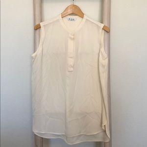 Loro Piana Ivory Silk Tunic Size 48